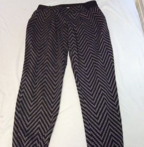 Black & Gray Leggings